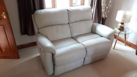 Two Seater Leather Sofa Recliner