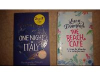 Lucy Diamond collection of two fiction books/novels (paperback)