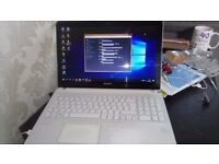 sony vaio svf152c29m laptop 8gb ram 750 hdd intel i5 open to offers