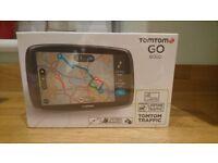 TomTom GO 6000 6inch Sat Nav with Lifetime European Maps & Lifetime Traffic updates *BRAND NEW*