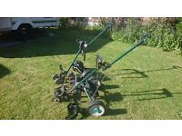 2 Hill Billy Golf Trolleys