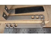 30 x stainless steel Frame Ties and debonding spacers for expansion (removable)150mm SPB150