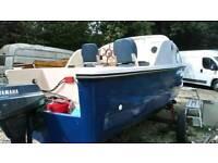 16ft fishing boat, river boat? Yamaha engine etc