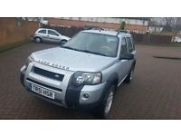LEFT HAND DRIVE 2006 FREELANDER TD4 IN SOUTH EAST LONDON