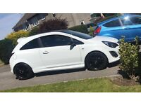 White Vauxhall corsa 1.2 (LIMITED EDITION) 62 plate £5750