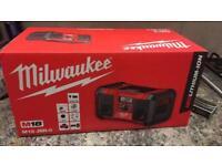 Milwaukee site radio not makita or dewalt