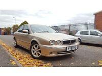 2001 Jaguar X Type 2.5 V6 SE AWD Very Low 79k FULL LEATHER FULL MOT Xtype S Type C Class E S Mondeo