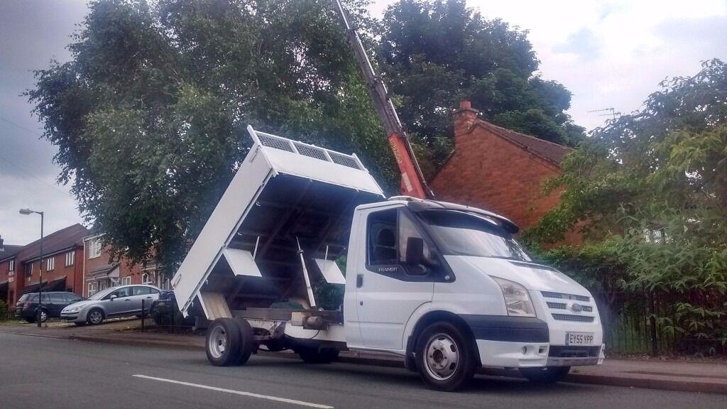 Transit Tipper Hiab Crane In Walsall West Midlands