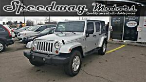 2007 Jeep Wrangler Sahara Unlimited -4x4,No Accidents,w/Soft Top