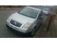 itroën C2 1.2 petrol with 6 months mot 3 doors ideal first car ready to go £590