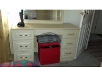 6 drawer dresser - lime oak - Free