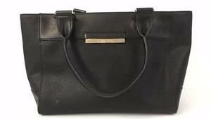 Calvin Klein Beautiful Black Leather Bag