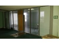 Glass Office Partitions / Partitioning
