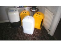 DEHUMIDIFIERS industrial &domestic all good working condition dries damp in household workplace
