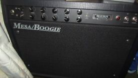 Mesa Boogie 50 guitar amp. As new.