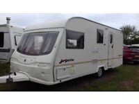 avondale argente 550/4 lightweight 4 berth caravan 2004