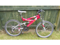 Apollo Unleashed boys mountain bike. £50.00