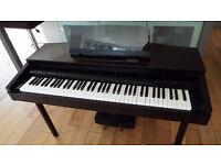 Yamaha Clavinova CVP7 electric piano in full working order.
