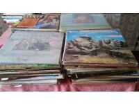 Over 100 Country music LP's