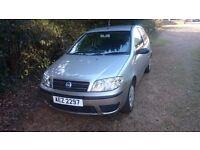 Fiat punto 1.2 2004 spares or repairs. Needs rad and mot