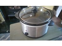 Asda 3 litre slow cooker. Hardly used.