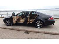 Mercedes CLS 320 CDI 2006 BLACK AMG KIT / BEST COLOUR COMBINATION