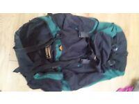 Large travel/hiking backpack