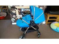 Silvercross wayfarer pushchair travel system