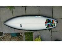 Surfboard 6'2 JP RX5 (Bag, Fins + Leash)