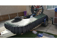 Hovercraft F35 Race hovercraft with Trailer - swap for MX Motocross