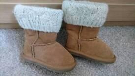Next boots infant size 4