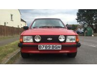 Ford ESCORT 1.6 Ghia Convertible 2dr £7,995 LOW MILEAGE RARE FIND 1984(B reg)