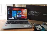 Asus x555y quad core 1 tb 6 gb ram no offers please