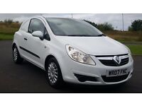 £1895 o.n.o NO V.A.T 1 Owner 2007 07 plate Corsa van only 84000 miles(warranted)