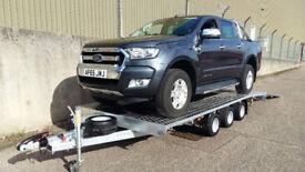 Car Transporter RECOVERY TRAILER TRIPLE AXEL 3500KG 5,0m x 2,10m
