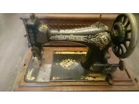 Selling two vintage sewing machines . Either for use or decorational pieces