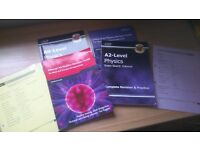 4 physics edexcel AS and A2 books from cgp and edexcel!!!!