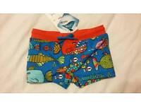 Boys swimming trunks 2-3yrs