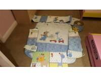 Next boys nursery set