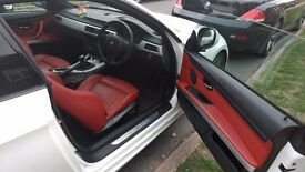 BMW 3 Series 2.0 320i M Sport 2dr - Full red leather interior