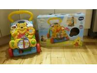 Winnie The Pooh Vtech activity walker with box.