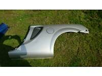 Toyota MR2 rear side panel silver