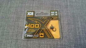Prologic XC8 Hoox Coated CC83 Carbon Steel Carp Fishing Hooks Size 10 - Brand New !