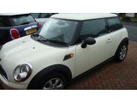 MINI FIRST 1.6 2010 LOW MILEAGE ONLY 57K