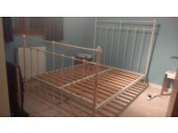 King-Size Metal Bed Frame