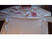Retro white England shirt