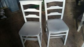 ANTIQUE VINTAGE RETRO CHIC OLD SCHOOL CHURCH CHAPEL CHAIRS CAFE BISTRO RESTAURAUNT BAR CHAIRS LOVELY