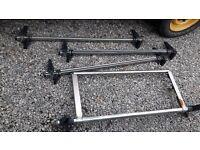 Rhino roof bars / roof rack van ( VW T5 Transporter )