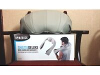 HoMedics Shiatsu Deluxe Neck and Shoulder Massager With Heat