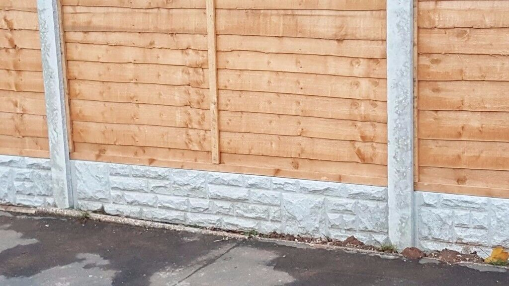 Fence Panels Overlap Fencing Panel 5ft